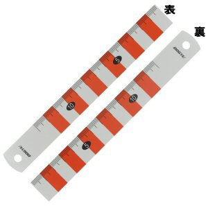 樹脂製両面紅白スケール