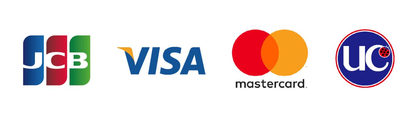 クレジットカード対応ブランド一覧