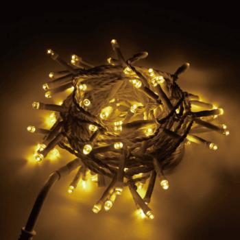 従来品に比べコードが細いプレミアムスリムLEDストリングライトなら、 光が拡散しやすい球を採用していますので、明るく華やかに装飾できます。