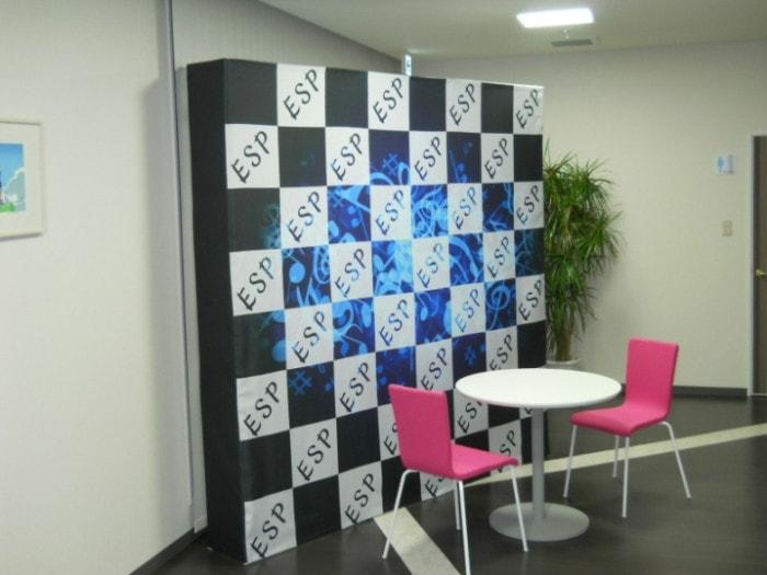 展示会・イベント・受付などにオススメなイージーシステムパネルです。