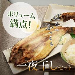 ホッケ・秋刀魚・ニシン・いか・メロカマ詰め合わせの一夜干しセット
