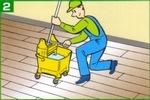 ニュートラコート住宅用 洗浄作業2