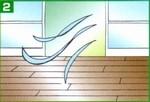 ニュートラコート住宅用 ワックス塗布作業2