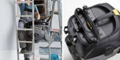 ケルヒャー 業務用乾湿両用クリーナーNT25/1Ap