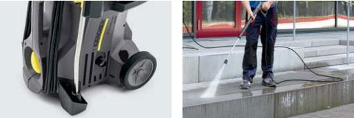 ケルヒャー 業務用冷水高圧洗浄機 HD4/8Pはタフな設計