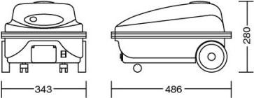 コンドル スーパースチームジェットSP-200/サイズ