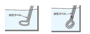 確認事項4/投げ込み型ヒーター