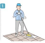使用方法1/ユシロ マンション廊下専用クリーナー