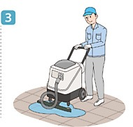 使用方法3/ユシロ マンション廊下専用クリーナー