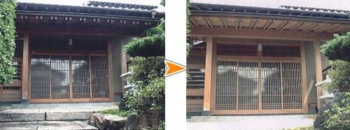 ミヤキ レブライト/木造住宅のアク洗い