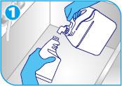 ガラスクリア使用方法1