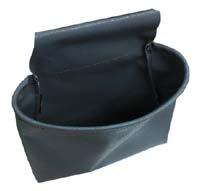 清掃用具やウエス入れに!腰袋シングル(防水タイプ)