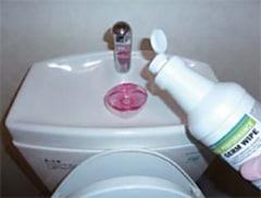トイレ・洗面台等の日常清掃・除菌に/トイレ水回り用除菌洗剤ジャームワイプ