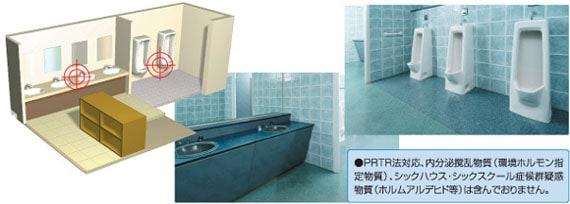 日本ケミカル トイレアルファ・スリー/便器や洗面台に