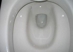 洋式便器の汚れの洗浄 施工後/スマート フラッシュ