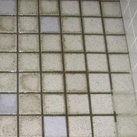 トイレのタイルの汚れの洗浄 施工前/スマート フラッシュ