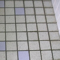 トイレのタイルの汚れの洗浄 施工後/スマート フラッシュ