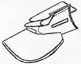 三ツ折りバイヤスバインダー
