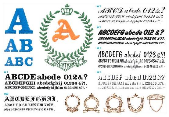 ブラザー 刺しゅうカード(ABCのスケッチブック)
