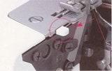 ロックミシン ワンタッチ巻き縫い