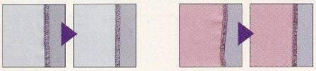 ロックミシン 縫いサンプル