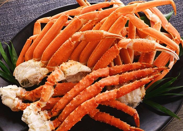 タラバ蟹とズワイ蟹の2大蟹足食べ比べセット約2kg