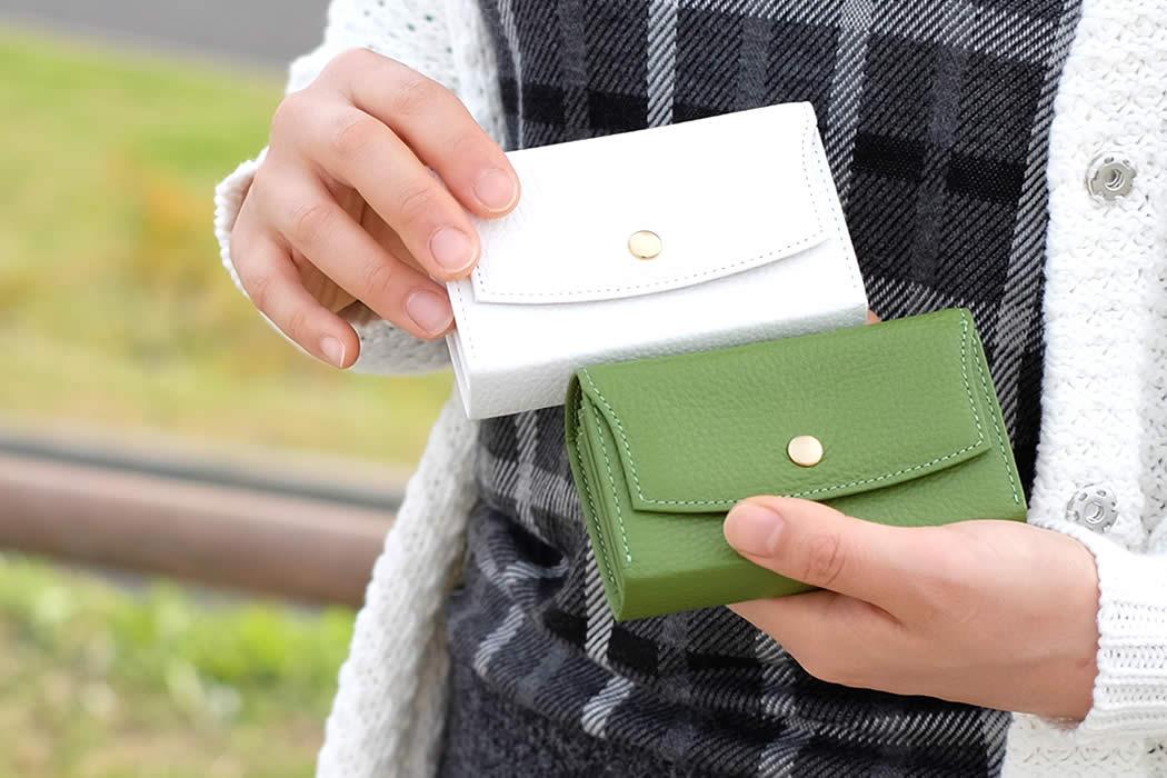 カードケース 蛇腹 ジャバラ 革 アドリア adria