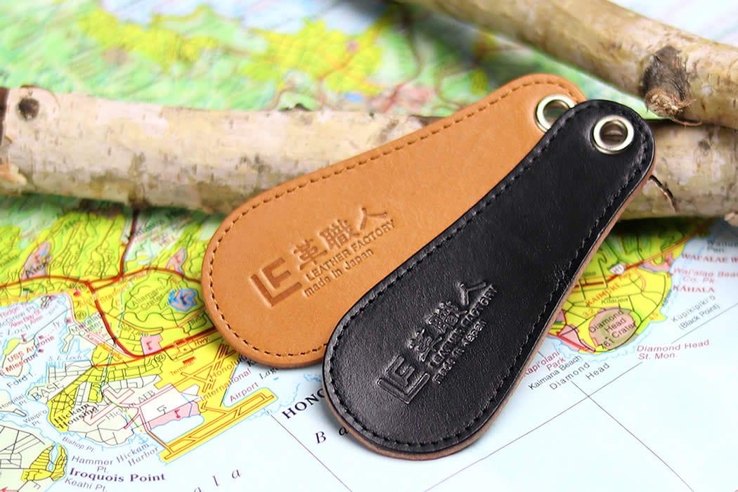 靴べら 革 携帯 小型 軽い メンズ シューホーン