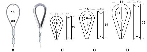 ワイヤー自在の下先端の加工