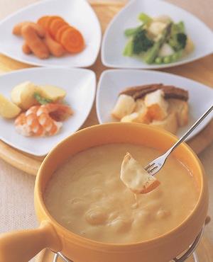 チーズフォンデュ 耐熱セラミック鍋「セラウェア」、チーズフォンデュ鍋セットのケデップ HOME
