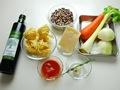 パスタ・エ・ファジョーリ(パスタと豆のスープ)の作り方:1