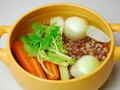 パスタ・エ・ファジョーリ(パスタと豆のスープ)の作り方:2