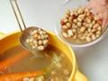 パスタ・エ・ファジョーリ(パスタと豆のスープ)の作り方:3