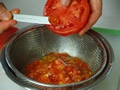 フレッシュトマトのスパゲティの作り方:2