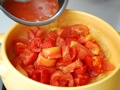 フレッシュトマトのスパゲティの作り方:4