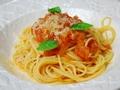 フレッシュトマトのスパゲティの作り方:1
