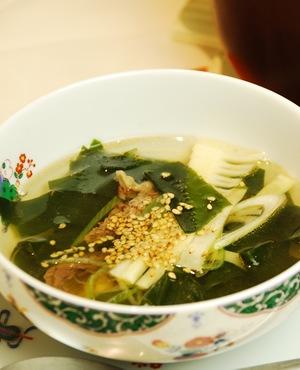 超簡単!!韓国風わかめスープ