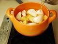手作りソーセージと新じゃがのスープ煮の作り方