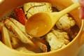 ワタリガニのトマトクリームパスタの作り方