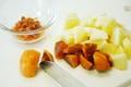 リンゴと柿の熱々パイの作り方
