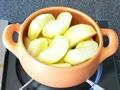 お鍋でアップルパイの作り方:3