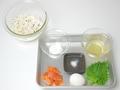 雑穀サーモン寿司の作り方:1
