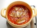 豚バラと夏野菜のピリ辛煮の作り方:5