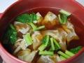 餅入りワンタンスープの作り方:7