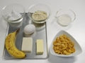 バナナケーキの作り方:1