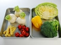 蒸し野菜の作り方:1