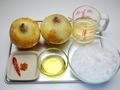 玉ねぎジャムの作り方:1