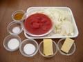玉ねぎとトマトのバターカレーの作り方:1