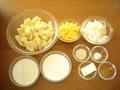 ポテトグラタンの作り方:1
