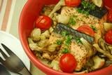 キノコと秋鮭の蒸し焼きの作り方